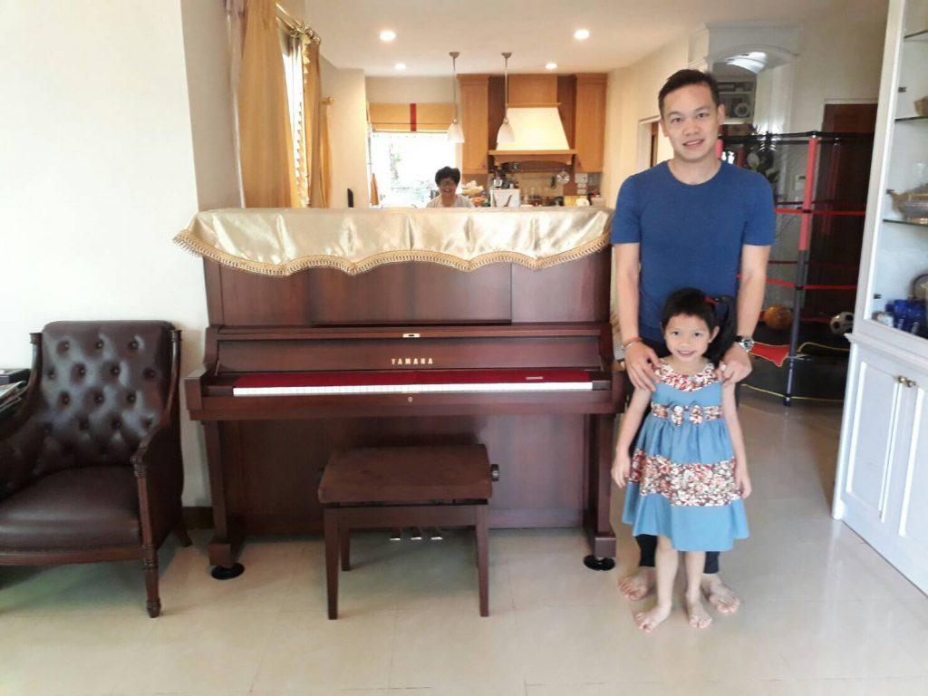 เลือกซื้อเปียโนมือสอง เปียโน Yamaha WX Serie