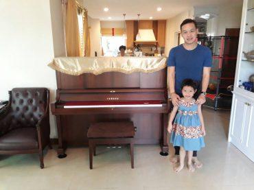 ส่งมอบเปียโน Yamaha WX Serie