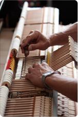 ซ่อม - เปลี่ยนสี ภายในและภายนอก (PIANO REGULATION AND REPOLISHED)